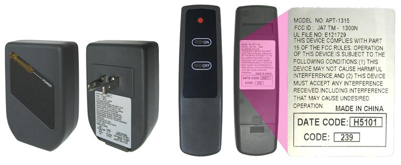 Remote Control Kits For Electric Fireplaces And Stoves